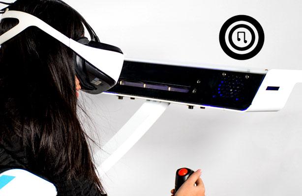 Birdly VR Flight Simulator Virtual Reality Flying Machine