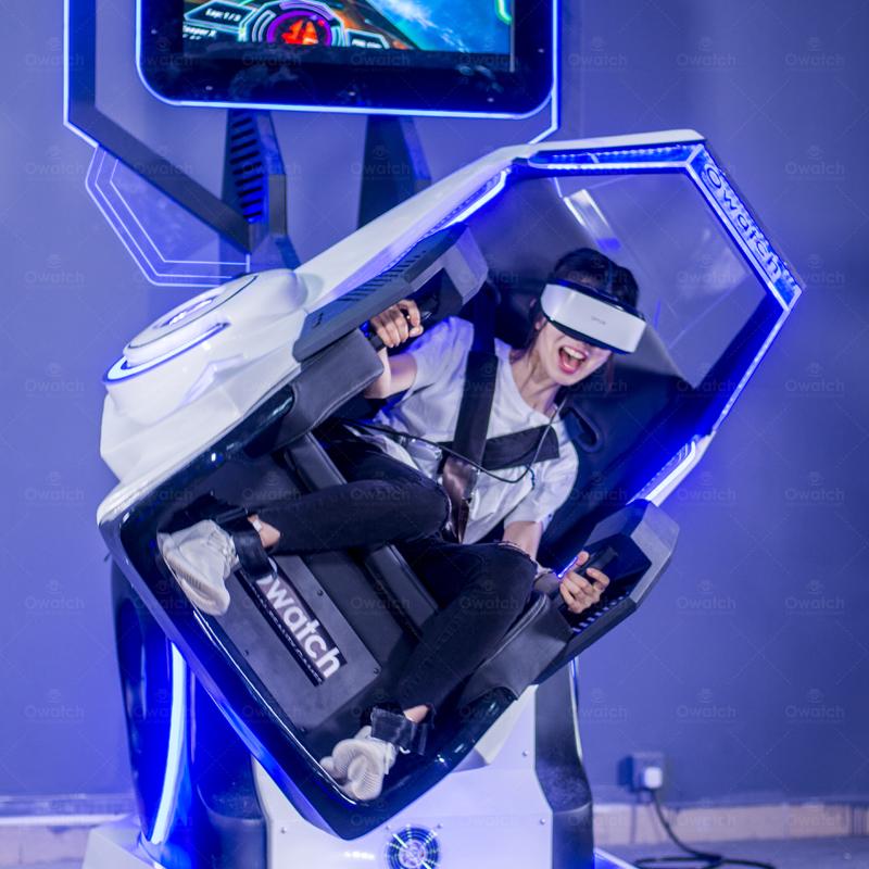 360° Rotating VR Roller Coaster Simulator - VR Motion Chair