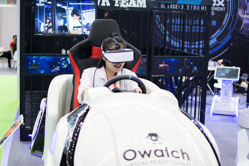 Owatch HOT SALE VR Racing, Customer said they can See the future Style from this racing simulator