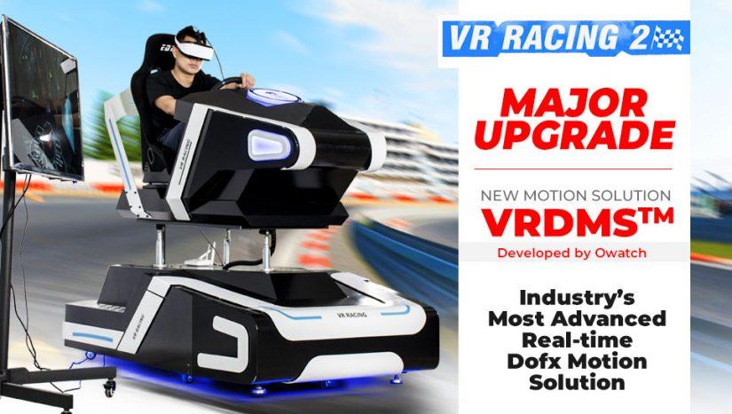 VR Driving Simulator Major Update: Advanced Realtime Dofx Motion
