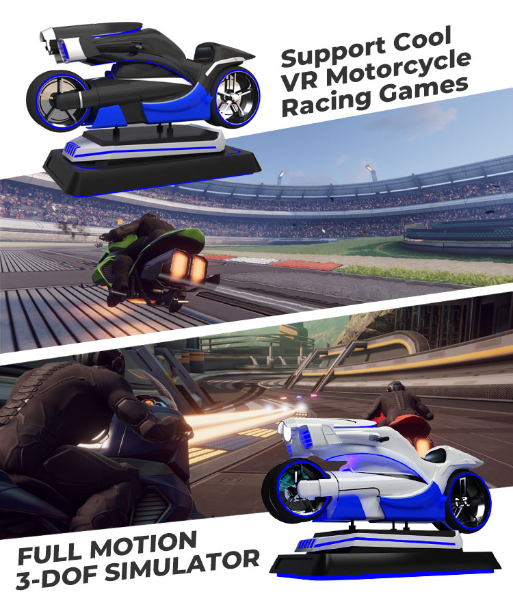 VR Motorcycle Simulator Racing Ride for Sale | Owatch™